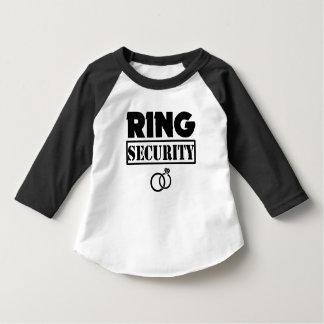 Camisa del niño de la seguridad del anillo