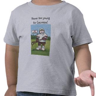 Camisa del niño de LaCrosse