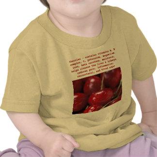 Camisa del niño de las cerezas