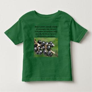 Camisa del niño de las grosellas negras