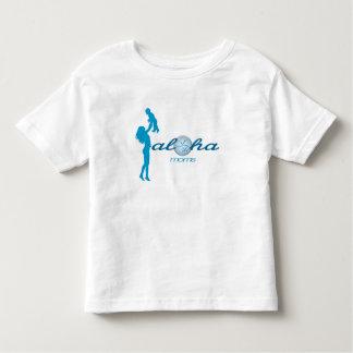 Camisa del niño de las mamáes de la hawaiana
