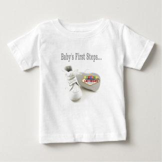 Camisa del niño de Las Vegas de los primeros pasos