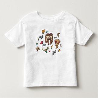 Camisa del niño de los Doodles