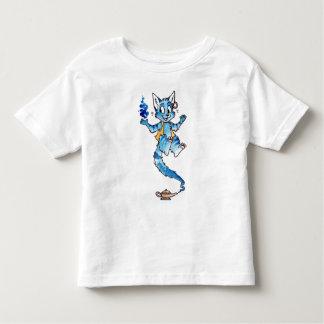 Camisa del niño de los genios del gato