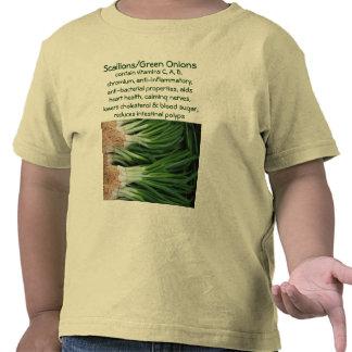 Camisa del niño de los Scallions/de las cebollas v