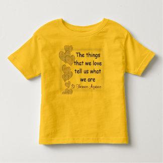 Camisa del niño de St Thomas Aquinas