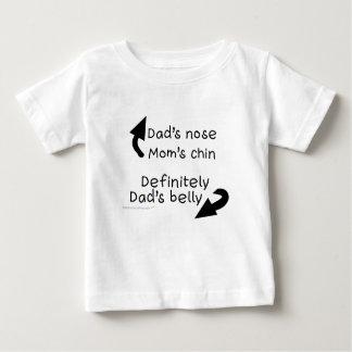Camisa del niño del Belly de los papás