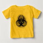 Camisa del niño del Biohazard del zombi