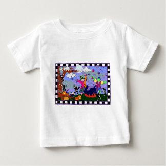 Camisa del niño del fiesta de las brujas