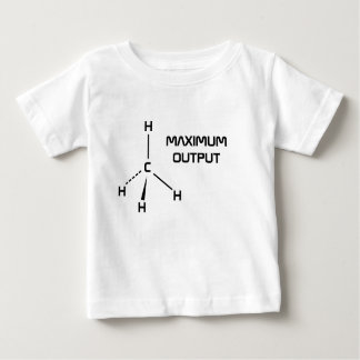 Camisa del niño del metano de la salida máxima