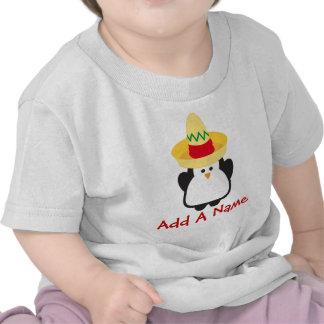 Camisa del niño del pingüino de Cinco de Mayo