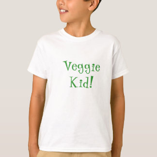 Camisa del niño del Veggie