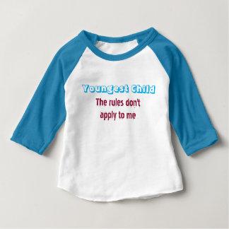 Camisa del niño más joven