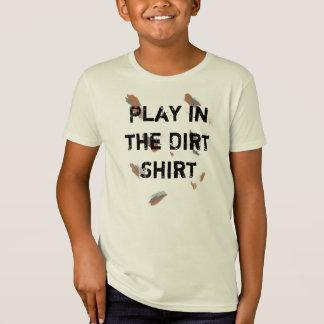 Camisa del niño para conseguir el juego sucio en