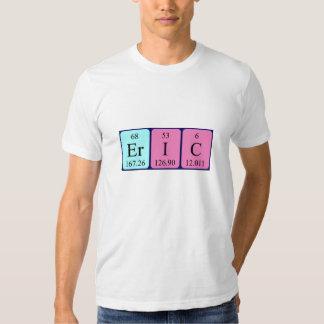 Camisa del nombre de la tabla periódica de Eric