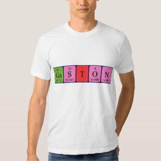 Camisa del nombre de la tabla periódica de Gastón