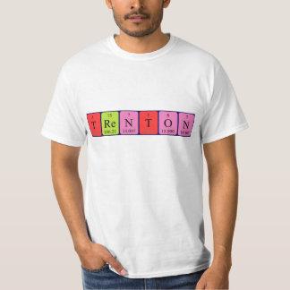 Camisa del nombre de la tabla periódica de Trenton