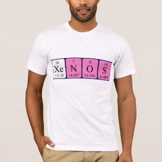 Camisa del nombre de la tabla periódica de Xenos