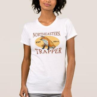 Camisa del noreste de las señoras del trampero