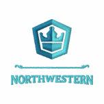 Camisa del noroeste bordada del equipo