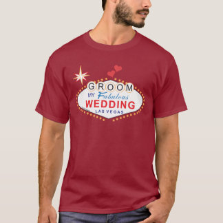 Camisa del novio de Las Vegas