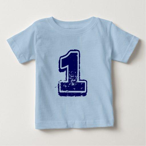 Camisa del número 1 para los muchachos