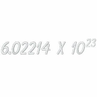 Camisa del número de Avogadro Camiseta Polo