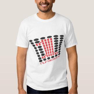Camisa del número uno
