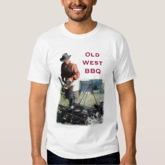 Camisa del oeste vieja del Bbq