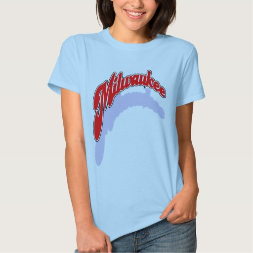Camisa del openswoop de Milwaukee