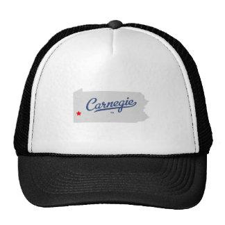 Camisa del PA de Carnegie Pennsylvania Gorro De Camionero