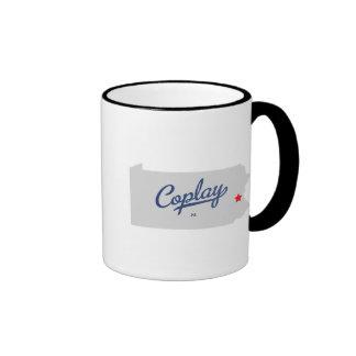 Camisa del PA de Coplay Pennsylvania Taza De Dos Colores