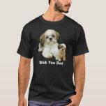 Camisa del papá de Shih Tzu
