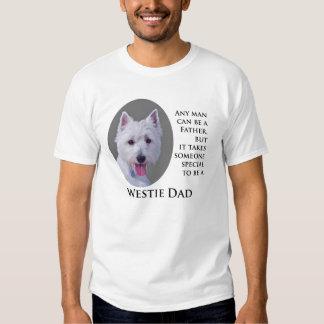 Camisa del papá de Westie