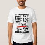 Camisa del patio ATV de la ambulancia del cielo de