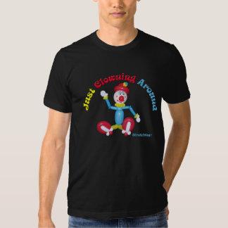 Camisa del payaso del globo con apenas Clowning