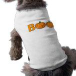 Camisa del perrito de Halloween del ABUCHEO Camisetas De Perro