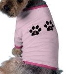Camisa del perrito de la esperanza de las patas 4 ropa perro