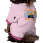 Camisa del perrito de las KARMAS del UNIVERSO KOZM Camisetas Mascota