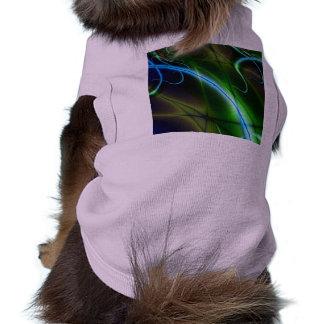 Camisa del perrito de los tentáculos camiseta de mascota