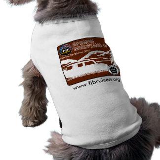 Camisa del perrito de Mudfling IV de la primavera  Playera Sin Mangas Para Perro