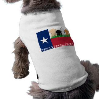 Camisa del perrito de TDD Playera Sin Mangas Para Perro