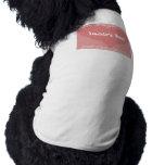 Camisa del perrito del bebé del papá camisas de mascota