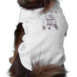 Camisa del perrito del payaso de 8 bolas ropa de perros