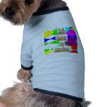 Camisa del perro camiseta de mascota
