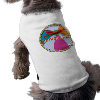 Camisa del perro de Beachball Playera Sin Mangas Para Perro