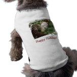 Camisa del perro de la alpaca del día de fiesta ropa macota