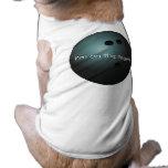 Camisa del perro de la bola de bolos ropa perro