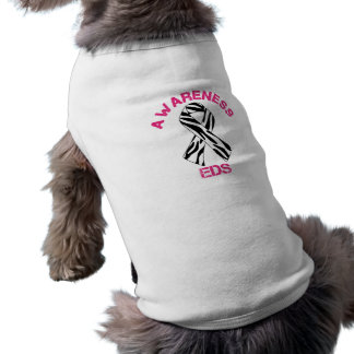 Camisa del perro de la cinta de la cebra de la con camisetas de perro