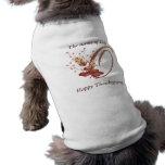 Camisa del perro de la letra O del monograma de la Ropa Macota